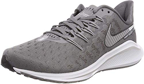Nike Damen WMNS AIR Zoom Vomero 14 Laufschuhe, Grau (Gunsmokesea/Atmosphere Grey/Oil Grey/White 001), 38.5 EU
