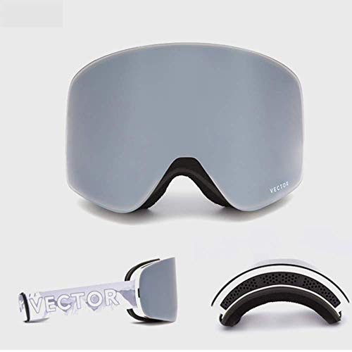 JayQm Winter OTG Ski Goggles Sneeuwbril Mannen Anti-Fog Coatings Skateboard Snowboard Skiën Vrouwen Zonnebril Outdoor Sport