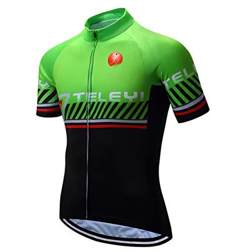 Maillot de ciclismo hombres Bike MTB cremallera Mountain Road Bicicletas tops Camisetas...
