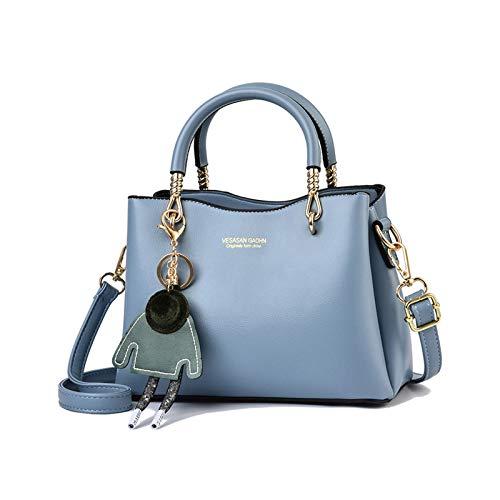 NICOLE & DORIS Damen Handtasche Hellblau