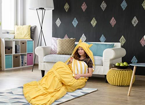 Chic Home - Schlafsäcke in gelb, Größe 32 x 75