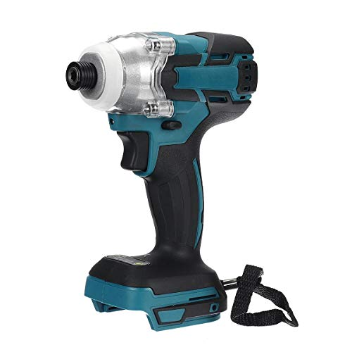 18V Cordless Electric Screwdriver Speed Brushless Impact Wrench Rechargable Drill Driver LED Light For Makita Battery