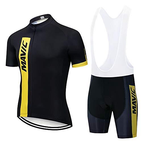 STEPANZU Maillot Cyclisme Homme Vetement Velo...