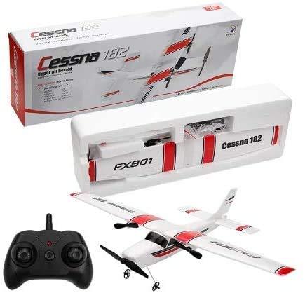 s-idee® Avión teledirigido FX801 Cessna 182 RC con 2,4 GHz