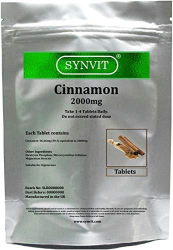 Cinnamon 2000mg SYNVIT (360 Tablets)
