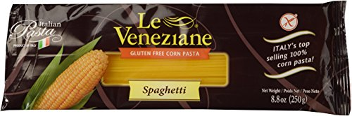 Le Veneziane Italian Gluten Free Corn Pasta Spaghetti 250