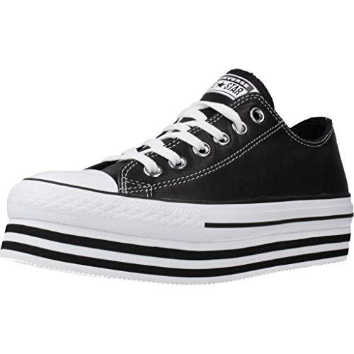 Converse, Ctas Layer Black 565828C, Sneakers per Donna, 38