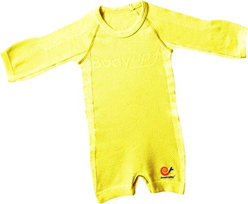 Mebby Épais Body pour Bébé à Longues Manches - Jaune - 0 à 3 ans