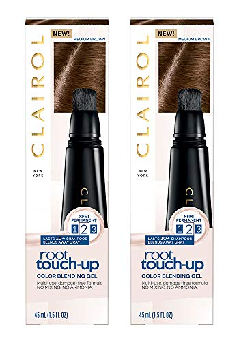 Clairol Clairol Root Touch-Up Color Blending Gel, 5 Medium Brown, 1.5 Fl Oz, Pack of 2