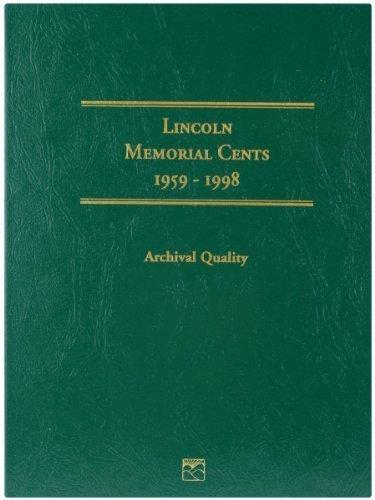 Littleton 1959-1998 Lincoln Memorial Cent Folder by Littleton...