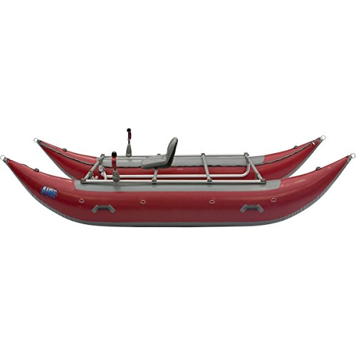 Discover Bargain AIRE Wave Destroyer 14ft Cataraft Red, One Size