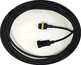 Cable de baja tensión para – McCulloch ROB R600, R800, R1000 robot cortador – Cable de conexión para transformador fuente de alimentación y estación de carga [año 2016 y 2020]