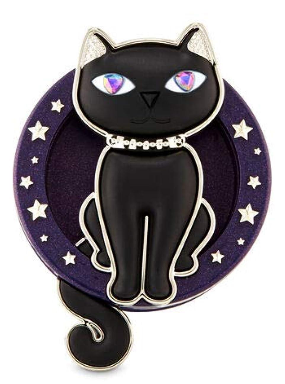 恵み結果主権者【Bath&Body Works/バス&ボディワークス】 クリップ式芳香剤 セントポータブル ホルダー (本体ケースのみ) グラマラスキティー キャット ネコ Scentportable Holder Glamourous Kitty [並行輸入品]