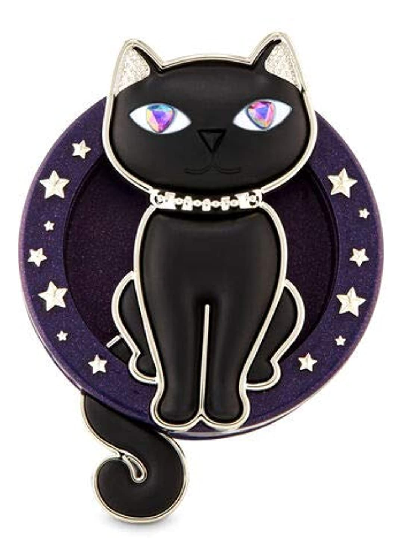 分岐するインフレーション嵐【Bath&Body Works/バス&ボディワークス】 クリップ式芳香剤 セントポータブル ホルダー (本体ケースのみ) グラマラスキティー キャット ネコ Scentportable Holder Glamourous Kitty [並行輸入品]