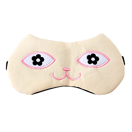 1 Pièce Oeil de Sommeil Masque pour les Yeux de Voyage Masque pour les Yeux de Coton