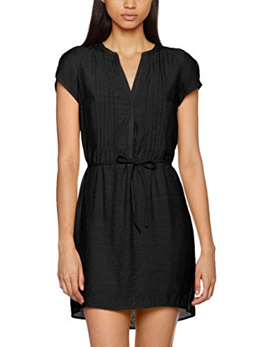 VERO MODA Damen Kleid Vmmandy Cap Sleeve Short Dress, Rosa (Desert Sand Desert Sand), 40 (Herstellergröße: L)