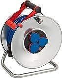 Brennenstuhl 1199830 Garant S Super-Solid - Carrete alargador de cable (IP 44, N05V3V3-F3G1,5, 50 m)