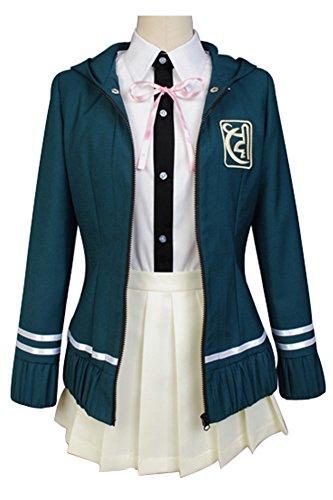 Disfraz de Super Danganronpa Chiaki Nanami para mujer, hecho a medida