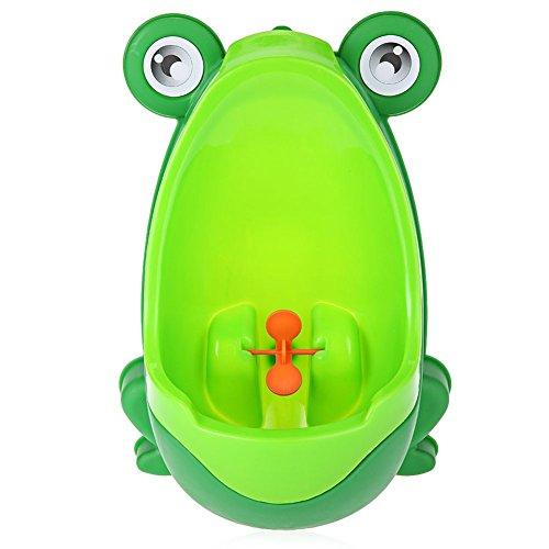 Kentop Orinatoio per bambini, a forma di rana Orinatoio toilette Allenamento per ragazzi Baby Pee Allenamento