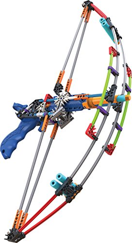 K'NEX K-FORCE Battle Bow Build and Blast Set – 165 Pieces – Ages 8+ Engineering Education Toy (Amazon Exclusive)