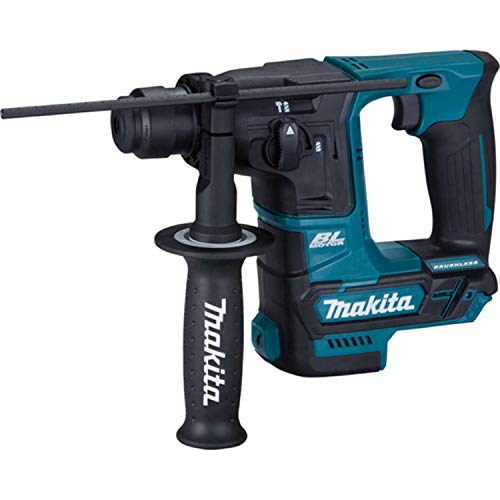 Makita HR166DZ Bohrhammer ohne Akku/Ladegerät, 12 V, Blau/Schwarz