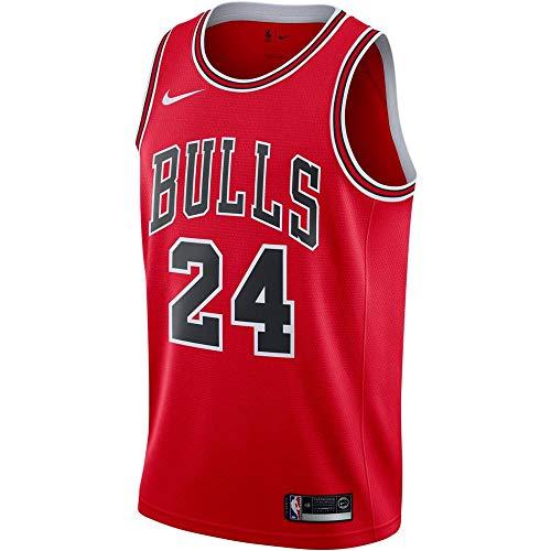 Nike CHI Mens Swingman Mens Road Jersey 864465-664 Size M