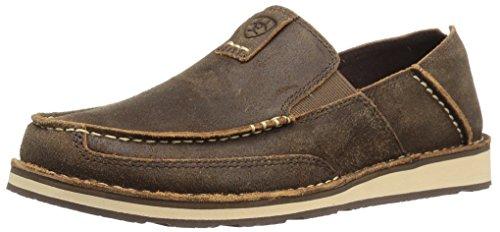 Ariat Men's Slip On Shoe Casual, Rough Oak, 9.5 Wide