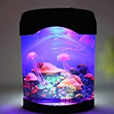 UOEIDOSB Los Tanques de iluminación LED Mini iluminación del Acuario de la lámpara de Escritorio acuarios Ornamentales Peceras Decoración