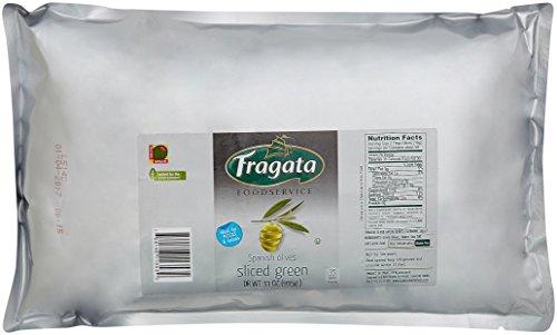 豊産業 フラガタ スライスオリーブパウチ 935g [3532]