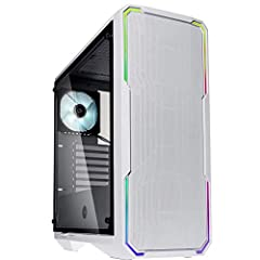 """Case Type: ATX Mid Tower Material: steel, plastic, Tempered glass M/B Type: Mini-ITX, MicroATX, ATX, E-ATX up to 272mm (10.7 inch) Internal: 2x 3.5"""" (Usable as 2.5"""" Bay), 3x 2.5"""" Front I/O panel: 2x USB 3.0 Ports, 1x HD Audio/mic"""