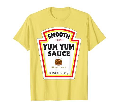 Smooth Yum Sakura - Etiqueta de botella de salsa divertida