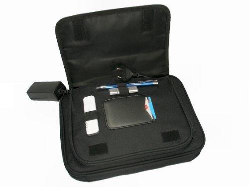 Hotter Case III NETBOOK BAG NYLON BLACK 8.9'10.18.9–10.2inch Netbook Case for Medion Akoya Samsung NC 10, Acer Aspire One D150, Asus, LG, MSI Wind, Fujitsu-Siemens etc.