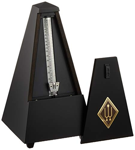 Wittner Wood Case Black Metronome with Bell Tuner