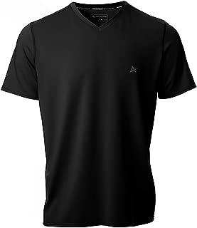 Men's V-Neck Instant Cooling Short Sleeve Shirt
