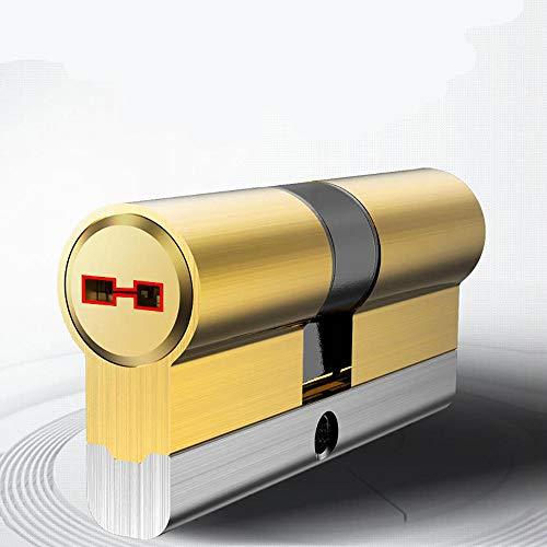 Sloten C Klasse 8 Sleutels Cilinder Anti-Diefstal Kern van De Deurvergrendeling Universeel Koper Plated Chroom Cilinders Koperen Sleutel 100mm32.5add67,5