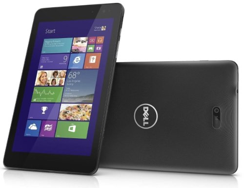 Dell Venue 8 Pro 5830 Tablet 64 GB with 3G/HSPA+ Mobile Broadband (WWAN) - (Intel Atom up to 1.8GHz Quad-Core, 2GB RAM, 64GB eMMC, WiFi, Mobile Internet WWAN O2 SimCard, BT, 2x Kameras, Windows 8.1 Pro)