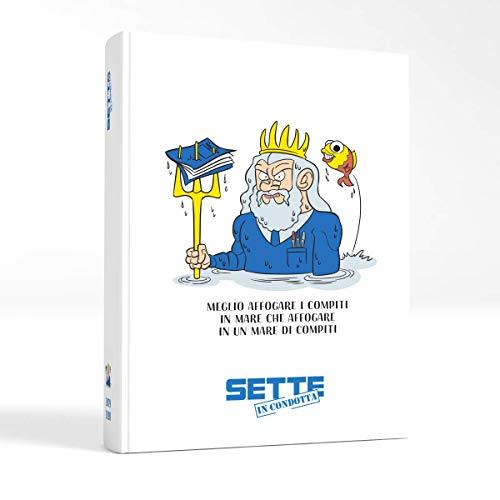 Sette in Condotta Diario Agenda Scolastico 2019-2020 (Bianco, Giant)