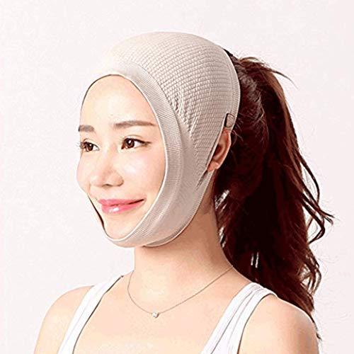 Visage Minceur Masque, Ceinture V Visage Bandage Visage Minceur Masque De Joue Cheek Cheek Slim Lift Ligne du Visage Lifting Complet Visage Réduire Le Double Menton Respirant
