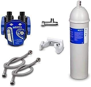 Brita Purity C 300 Quell ST Filtre à eau sous évier. support mural, adaptateur pour valve d'angle, tuyau. Idéal pour la ga...