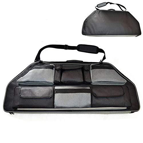 NANDAN Compound-Bogen-Tasche Tasche für Recurvebogen, große Kapazitäts-Bogenschießen Leinwand Bogenschießen Rucksack für Pfeil und Bogen Griffträger Sling Bogenschießen-Bogen-Schutz