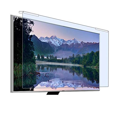 WLWLEO TV Screen Protector Film for 32 Inch Monitor Anti Blue Light Hanging Screen Eye Protection, Blocking Blue Light Anti-Glare Film for TV Computer Monitor,32' narrow screen 704 * 395