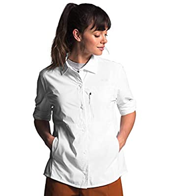 The North Face Women's Outdoor Trail L/S Shirt, TNF White, M