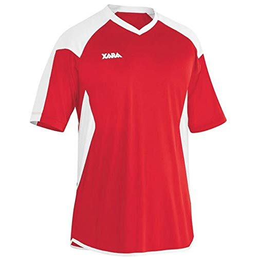 Oxford Soccer Jersey - Youth Large, Red/White