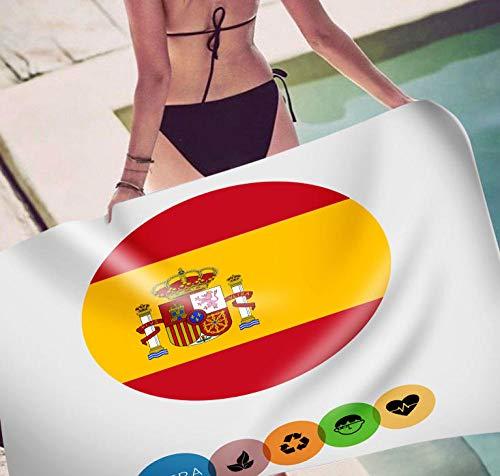 Towells strandhanddoek met vlag van de nationale vlag, superdun, rechthoekig, Europa en Amerika