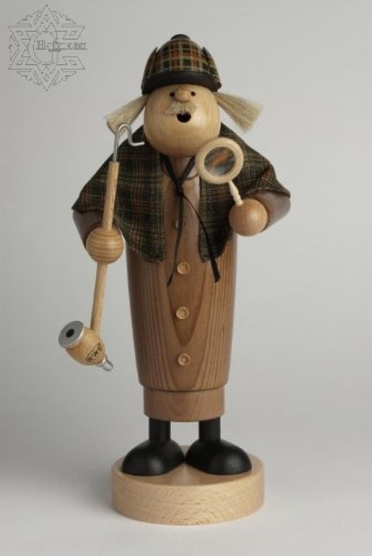 KWO Olbernhau 21724 Ruchermnnchen Sherlock Holmes, 25 cm