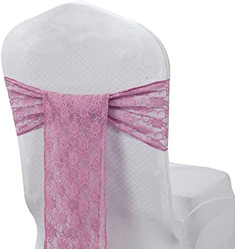 VDS Lace Chair Sashes Bow Back Tie Wedding Ribbon Banq 高品質 for ◆セール特価品◆