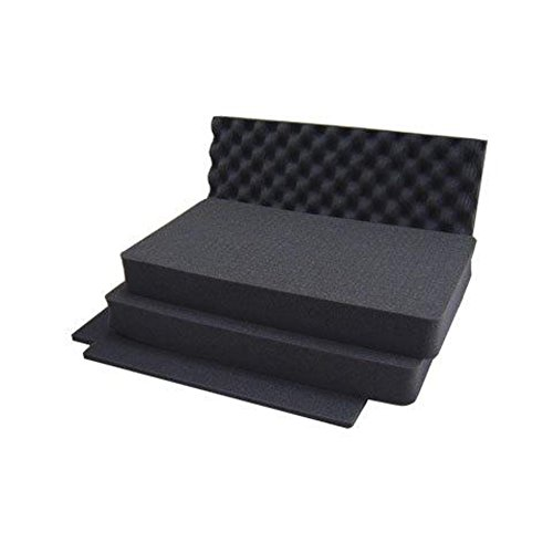 Peli 1510 Cases Black Foam Set, 1510-400-000E (Foam Set)
