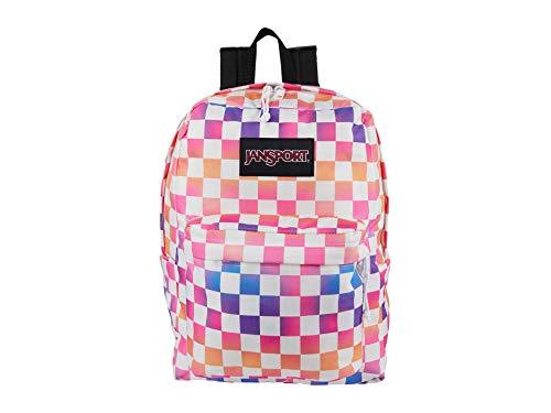 JanSport Superbreak Plus Backpack - School, Work, Travel, or Laptop Bookbag with Water Bottle Pocket, Check It