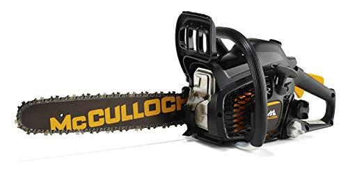 McCulloch Benzin-Kettensäge CS 35S, Motorsäge mit 1400 Watt Motor, 35 cm Schwertlänge, 2-Takt Motor, doppelte Kettenbremse (Art.-Nr. 00096-76.247.14)