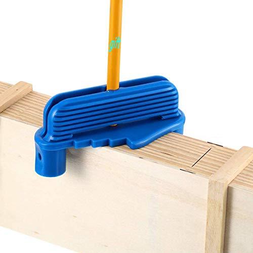 Center Scriber - Herramienta de marcado offset para la elaboración de la madera Centro Encuentra herramienta Colocación de la regla de medición Adecuado para madera estándar (contiene el lápiz)